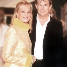Diane with David Foster