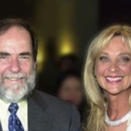 Diane with Nicky Oppenheimer, DeBeers Mining Company Chairman, 1988-2011