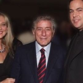 Diane with Tony Bennet