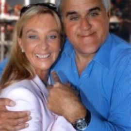Diane with Jay Leno